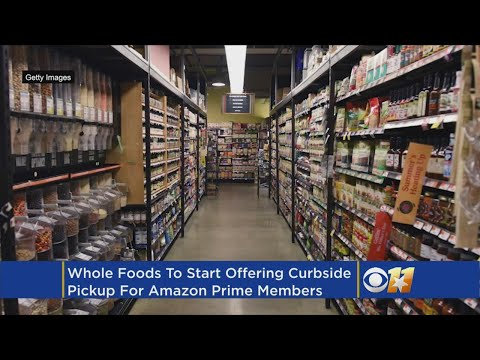 Amazon Brings Curbside Grocery Pickup To Whole Foods