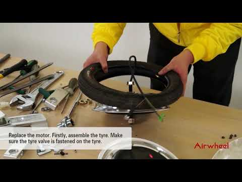 To change the motor of Airwheel electric unicycles (X series and Q series).