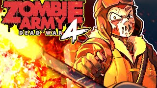 Zombie Army 4 Co-op!!!!! New Dlc with crazy zombies