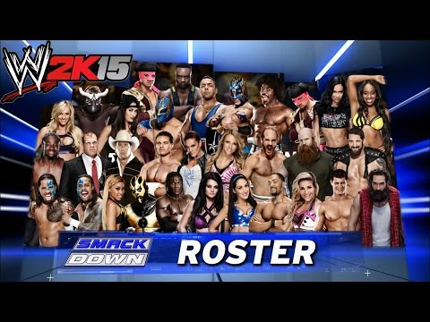 Wwe 2017 Roster