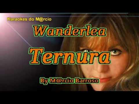 Wanderlea - Ternura -  Karaoke