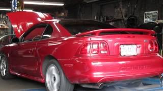 1998 Cobra SVT Nitrous Dyno run
