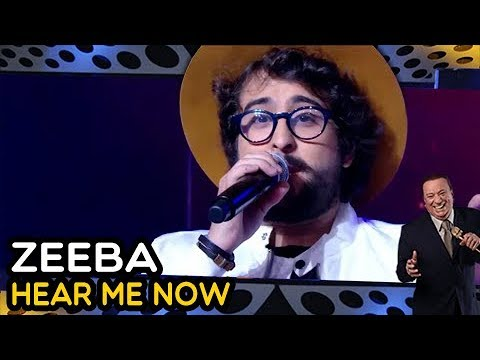 "ZEEBA ""Hear Me Now""  PROGRAMA RAUL GIL"