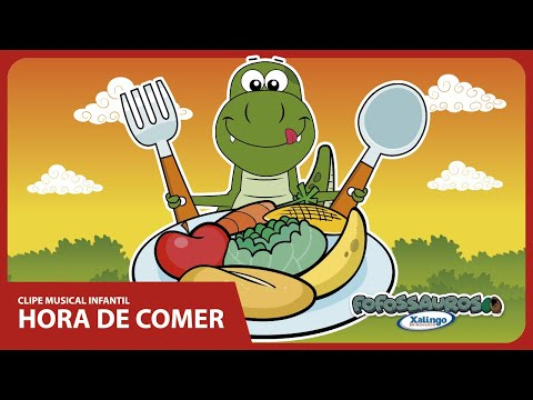 Clipe musical infantil HORA DE COMER - Fofossauros