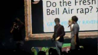 One Direction Fresh Prince of Bel Air rap; Sheffield