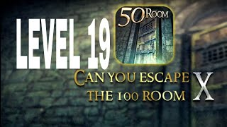 Can You Escape The 100 room X level 19 Walkthrough