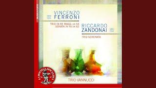 Trio per violoncello, violino e pianoforte in D Major, Op. 54: III. Adagio appassionato