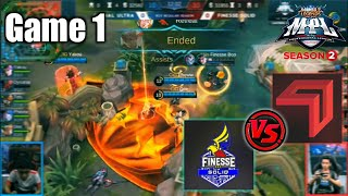 Game1 Cignal VS Finesse Tamang tyempo lang! | MPL-PH S2 Week6 Day1