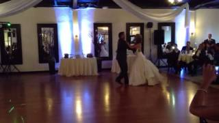 Surprise Salsa Wedding Dance