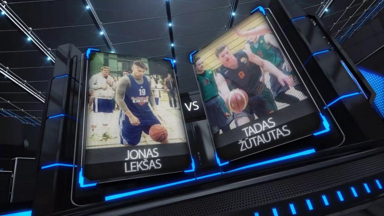 TOPsport Ghetto King 1x1: Jonas Lekšas  vs Tadas Žūtautas