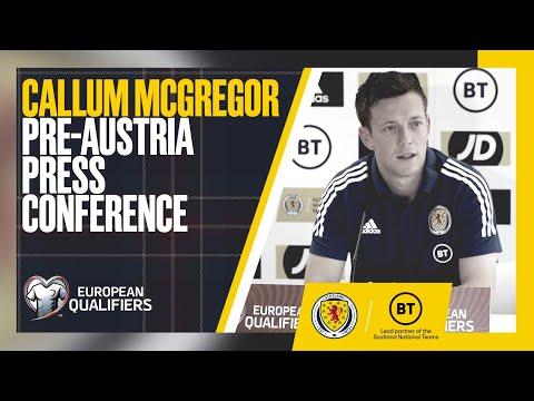 Callum McGregor Press Conference | Austria v Scotland | FIFA