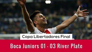 River Plate 3 x 1 Boca Juniors ●Copa Libertadores Final 2018●Santiago Bernabeu