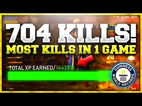 "704 KILLS IN A SINGLE GAME OF WW2! (1.5MIL XP) ""WORLD RECORD"""
