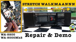 The stretch 'Walkman' - fixed-up & shown-off
