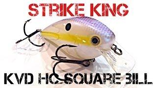 Lure Review- Strike King KVD HC Square Bill