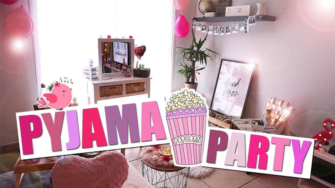Pyjama Party Entre Filles