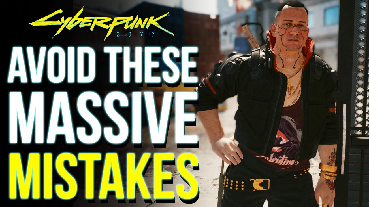 Cyberpunk 2077 - 8 Huge Mistakes You're Doing Right Now! (Cyberpunk Tips & Tricks)