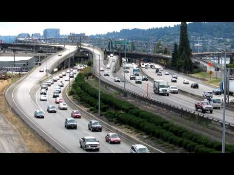 Portland, Oregon Interstate 5 Traffic