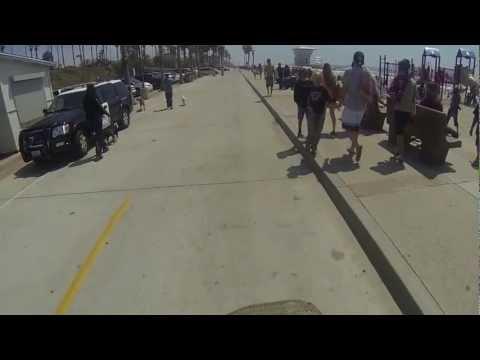 Oceanside CA Beach Bike Ride