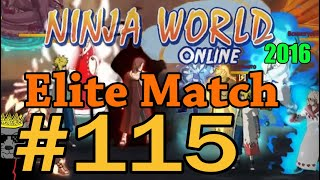 Ninja World-Elite Match Ep.115(Бро Ичи Починили..)