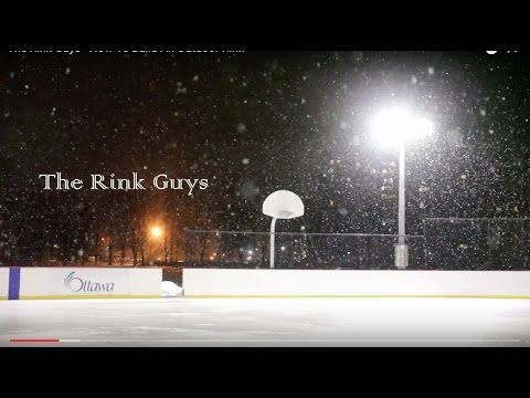 Tim Palmer - How To Build An Outdoor Rink