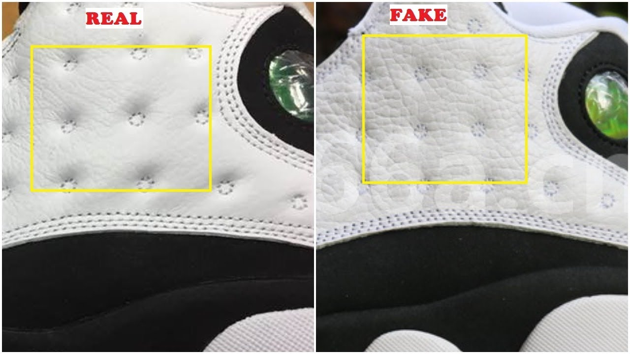 b0acd0441984 Quick Ways To Identify The Fake Air Jordan 13 XIII He Got Game - YouTube
