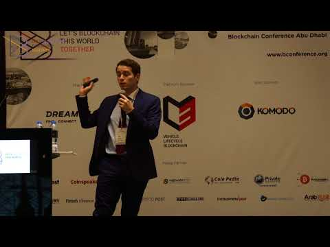 Talal Tabbaa at B Conference Abu Dhabi 2017