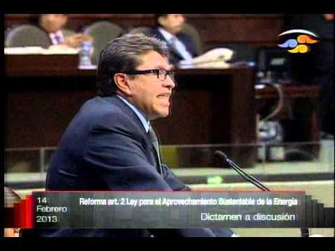 Dip. Ricardo Monreal Ávila (MC) - Ley para el Aprovechamiento Sustentable de la Energía