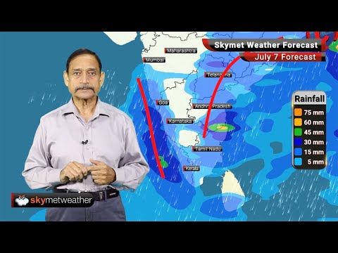 Weather Forecast July 7: Active Monsoon Conditions To Revive Shortly, Heavy Rain over Telangana