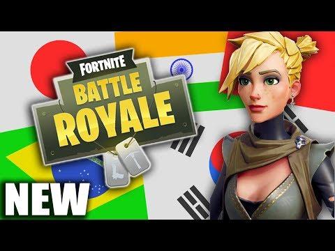 *NEW SERVERS* BRAZIL & ASIAN SERVERS EASY WINS! (Fortnite Battle Royale Gameplay)