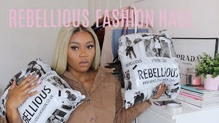 WINTER REBELLIOUS FASHION HAUL
