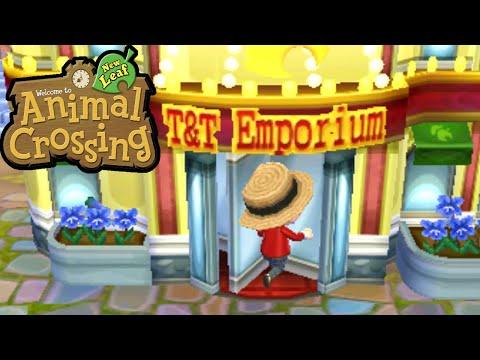 Animal Crossing: New Leaf - T&T Emporium! Final Upgrade Gameplay Walkthrough Ep.92 Nintendo 3DS