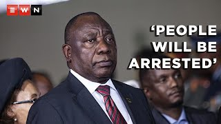 Speaking on 11 July 2021, President Cyril Ramaphosa said that acts of vandalism and violence will not be tolerated and perpetrators of these acts will be arrested . This comes after a number of businesses were looted, vehicles set alight and roads blocked by those calling for former president Jacob Zuma to be released from prison.