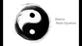 Dr Sean Chemistry 3分鐘Concept系列 - Balance Redox Equations
