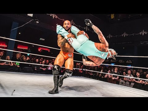 Rey Mysterio vs Ricochet - Free Match From Stacked 2017