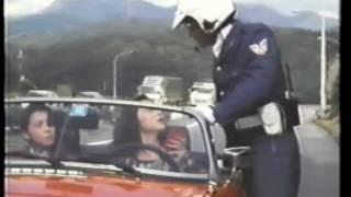 1982年作品。渡辺裕之俳優デビュー作。髭の白バイ隊員はMXライダー「鈴...
