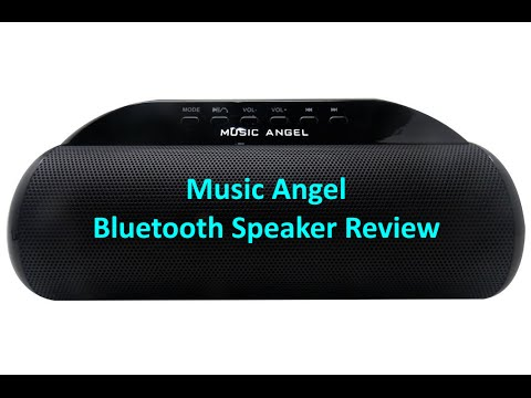 Music Angel 2016 Bluetooth Speaker Review & Unboxing - Model JH-MD13BT2