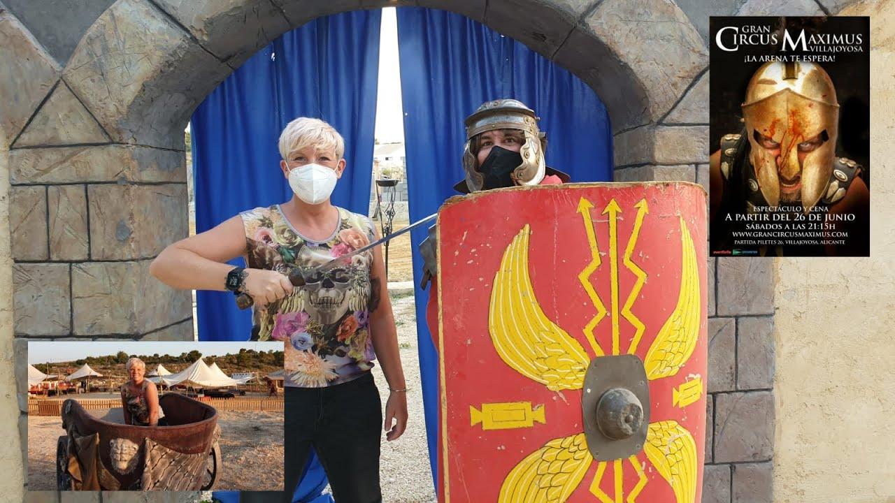 Benidorm - Gladiators fight to the death - Gran Circus Maximus
