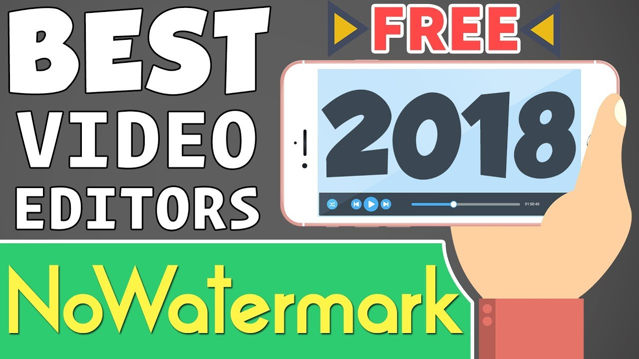 Best Free Video Editors For Android 2018 | No Watermark