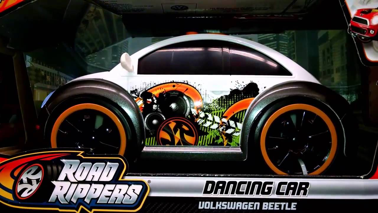 ROAD RIPPERS DANCING CAR VOLKSWAGEN BEETLE TOY CARS FOR KIDS TOYS R US Tots おもちゃ juguetes - YouTube