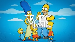 the simpsons theme song remix