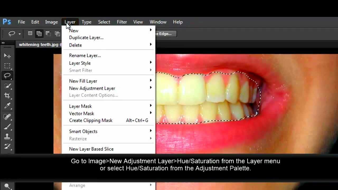 How To Whiten Teeth With Photoshop Cs6 Youtube