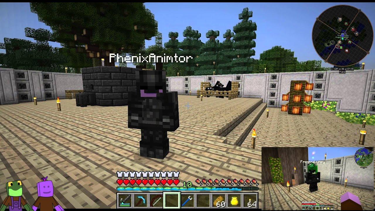 Minecraft FTB Infinity Evolved E Found The End Portal YouTube - Minecraft ftb hauser