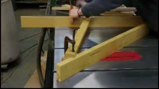Cutting Coves On The Table Saw
