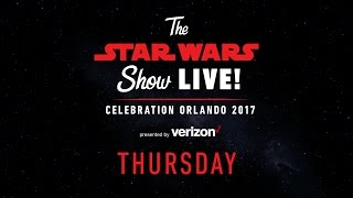 Star Wars Celebration Orlando 2017 Live Stream – Day 1 | The Star Wars Show LIVE!
