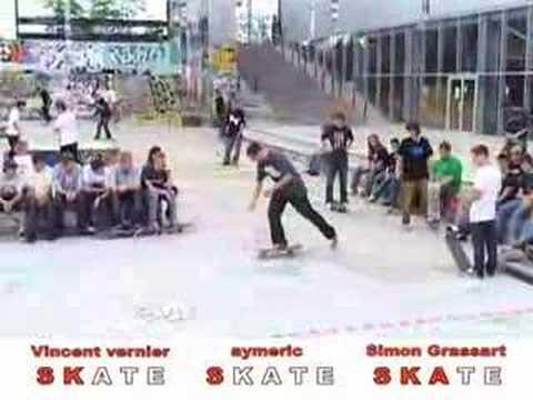 Es game of skate finale lille 2008 - Aymerik Nocus winner