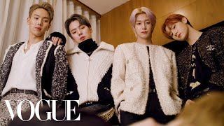 Monsta X Gets Ready For Their Surprise Chanel Performance | Vogue