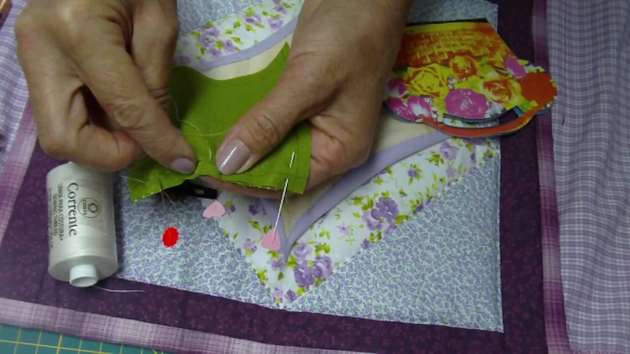 Patchwork PatchAula Materiais Agulhas Linha Costura
