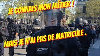 GILETS JAUNES✊VS POLICE PAS DE MATRICULE🤔