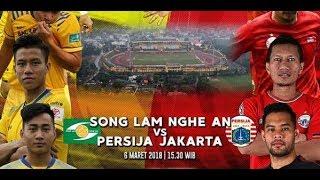 Video Gol Pertandingan Song Lam Nghe An vs Persija Jakarta